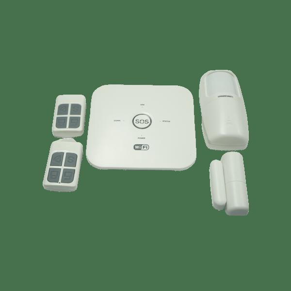 Thiết bị chống trộm wifi+gsm 24 vùng, 24 cảm biến SS-10WG