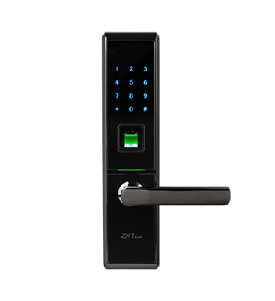 Khóa cửa vân tay, thẻ từ, mã số ZK-TL100