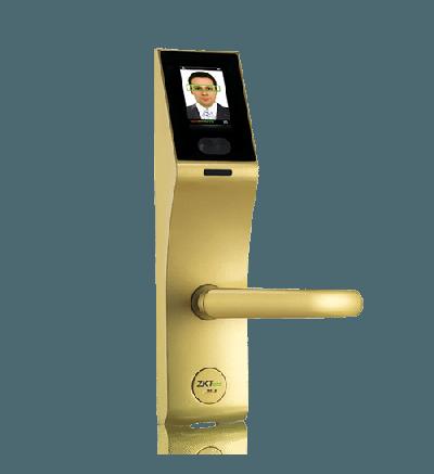 Khóa cửa khuôn mặt, thẻ từ, mã số ZK-FL1000