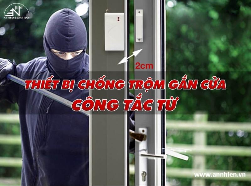 Thiết bị chống trộm gắn cửa - Công tắc từ