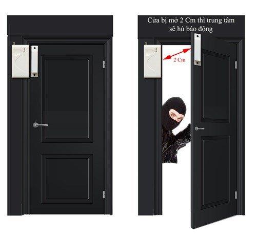 Thiết bị chống trộm gắn cửa hay công tắc từ
