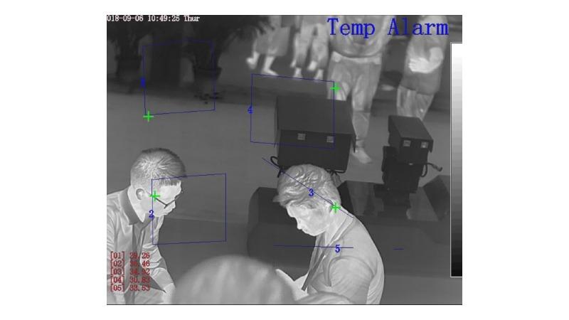 Camera Goldeye Temperature Alarm GE-TPB751 6